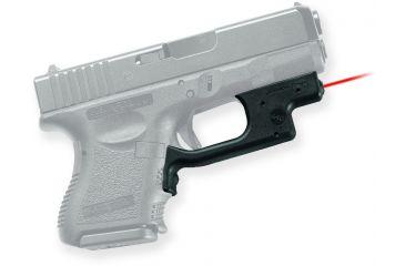 Crimson Trace Laserguard Sight, Black - Compact Glock 19/23/25 and Similar LG436