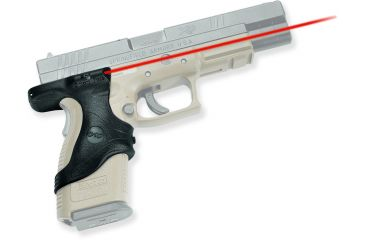 Crimson Trace Black Rubber Lasergrip For Springfield XD LG446