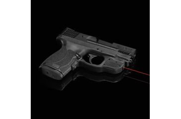 Crimson Trace Laserguard Green Laser for Smith and Wesson M/P 45 Shield