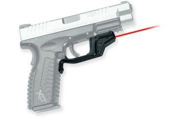 Crimson Trace Laserguard Sight, Black - Springfield Armory XD & XDM - LG448