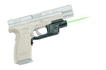 Crimson Trace Laserguard Green Laser Sight for Springfield Full Size XD / XDM - LG-453