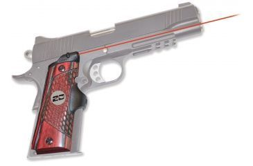Crimson Trace Master Series Laser Grip 20th Anniversary Limited Edition for 1911 Full Size, Applejack Wood LG-994