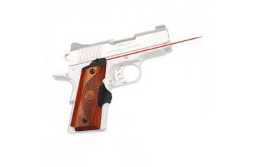 Crimson Trace Master Series 1911 Compact-Size Laser Grip, Cocobolo LG-918