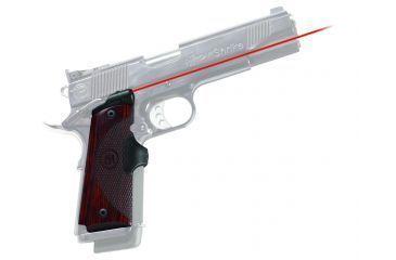 Crimson Trace Master Series Rosewood Laser Grip - 1911 Government/Commander - LG-901