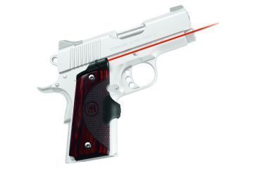 Crimson Trace Master Series Rosewood Laser Grip - 1911 Officers/Defender/Compact