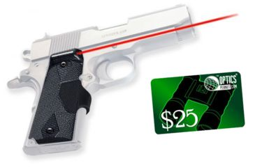 2-Crimson Trace Pro-Custom Carbon Fiber Lasergrips LG-401P4 for 1911 and 1991A1 Full-Size