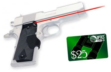 3-Crimson Trace Pro-Custom Carbon Fiber Lasergrips LG-401P4 for 1911 and 1991A1 Full-Size
