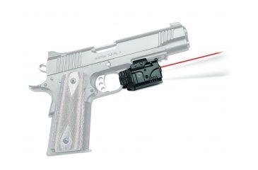 Crimson Trace Rail Master - Universal Rail Mount Laser-LED, Black, Red Laser CMR-205