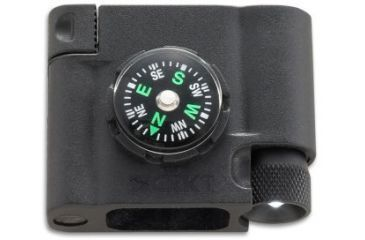 CRKT Stokes Paracord Survival Bracelet Accessory - Compass, L.E.D. & Fire Starter 9703