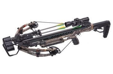 1-CenterPoint Gladiator Whisper 405 Compound Crossbow Package