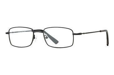 Cutter & Buck CB Torrey Pines SECB TORR00 Single Vision Prescription Eyewear - Black SECB TORR005240 BK