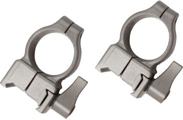 CVA Z2 Alloy QD Scope Rings, High, Silver 80927