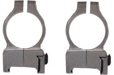 CVA Z2 Alloy Scope Rings, High, Silver 80923
