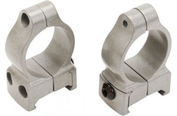 CVA Z2 Alloy Scope Rings, Medium, Silver 80919