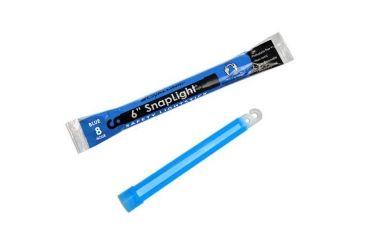Cyalume Snaplight, 6in., Blue, 8hr., NON-TOXIC, NO CYB8H