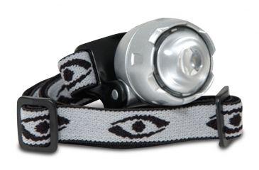 Cyclops Atom LED Magnifier Headlamp w/ Silver Headband CYC-ULH1-S