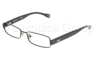 D&G DD5091 SV Prescription Eyeglasses - Black Demo Lens Frame / 51 mm Prescription Lenses, 064-5116