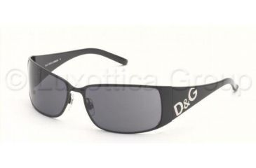 D&G DD6010 Sunglasses with Lined Bifocal Rx Prescription Lenses DD6010-01-87-5916 - Lens Diameter: 59 mm, Frame Color: Black