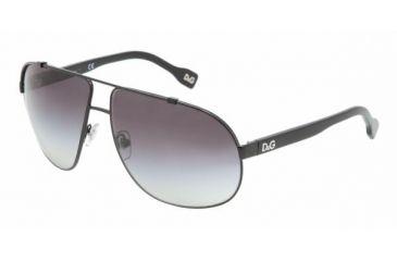 D&G DD 6070 Sunglasses w/ Black Frame, 064-8G-6212