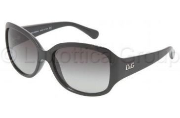 D&G DD8065 Progressive Prescription Sunglasses DD8065-501-8G-5916 - Frame Color: Black, Lens Diameter: 59 mm