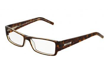 a3e7e205e90 D G DD 1150 Eyeglasses Styles - Havana On Transparent Frame w Non-Rx 53