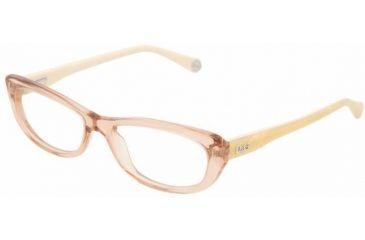 D&G DD1202 Bifocal Prescription Eyeglasses 1672 -5116 - Transparent Brown