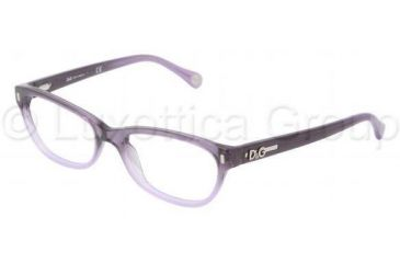 D&G DD1205 Progressive Prescription Eyeglasses 1674-5017 - Violet Gradient Frame