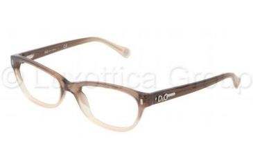 D&G DD1205 Eyeglass Frames 1675-5017 - Brown Gradient Frame