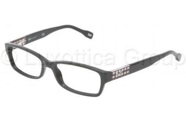 D&G DD1207 Single Vision Prescription Eyewear 1838-5116 - Black