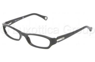 D&G DD1209 Eyeglass Frames 501-4916 - Black