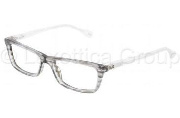 D&G DD1215 Eyeglass Frames 1767-5016 - Striped Gray