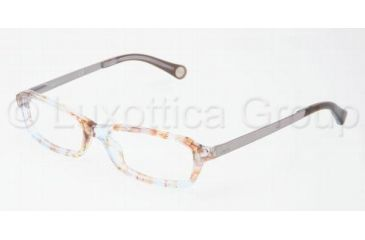 D&G DD1217 Bifocal Prescription Eyeglasses 1877-4915 - Azure Flowers