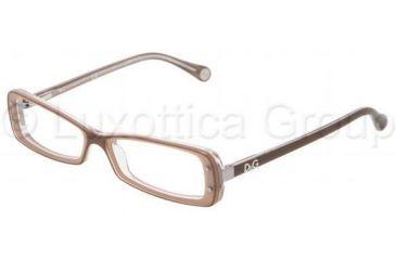 e74138dec79 D G DD1227 Eyeglass Frames 1981-4916 - Brown On Powder Frame