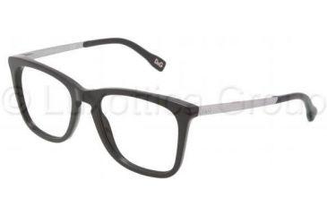 D&G DD1231 Progressive Prescription Eyeglasses 501-5219 - Black Frame