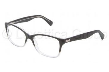 D&G DD1246 Bifocal Prescription Eyeglasses 2602-5216 - Dark Steel Frame