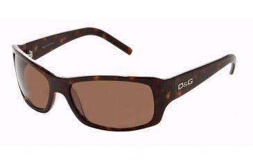 D&G DD3010 Sunglasses Styles -  Havana Frame w/ Brown 57 mm Diameter Lenses, 502-73-5716