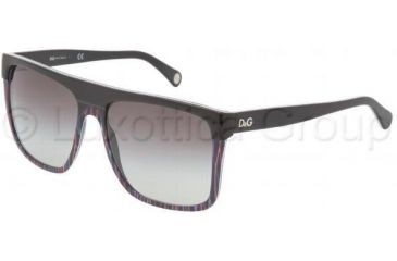 D&G DD3049 Bifocal Prescription Sunglasses DD3049-16118G-5916 - Frame Color: Black, Lens Diameter: 59 mm, Frame Color: Black