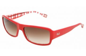 DandG DD3060 #177413 - Red On Check Brown Gradient Frame