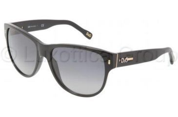 D&G DD3062 Sunglasses 501/8G-5917 - Black Gray Gradient