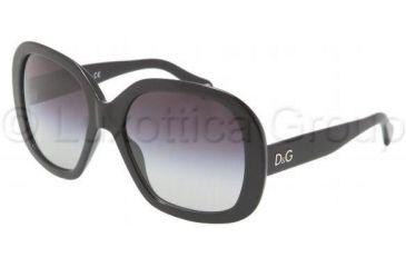 D&G DD3064 Sunglasses 501/8G-5819 - Black Gray Gradient
