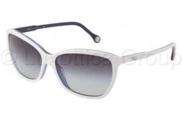 D&G DD3074 Progressive Prescription Sunglasses DD3074-18738G-5915 - Lens Diameter: 59 mm, Frame Color: Top White / Red / White / Blue
