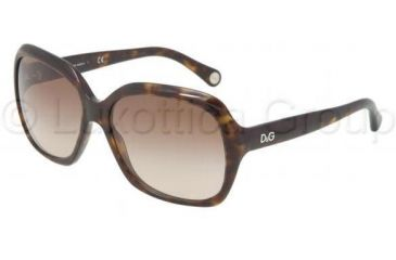D&G URBAN DD3077 Single Vision Prescription Sunglasses DD3077-502-13-58 - Lens Diameter 58 mm, Frame Color Havana