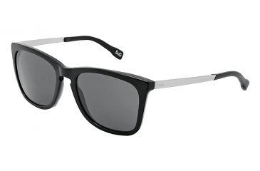 D&G DD3081 Sunglasses 501/87-5419 - Black Frame, Gray Lenses