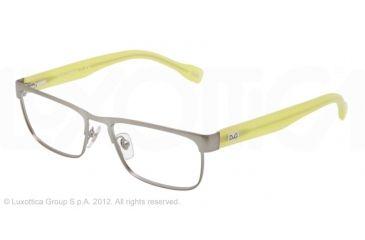 D&G DD5103 Progressive Prescription Eyeglasses 1239-52 - Gunmetal Frame