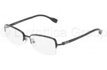 D&G DD5107 Progressive Prescription Eyeglasses 01-5416 - Black Frame