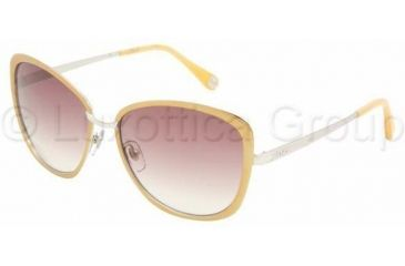 D&G DD6077 Sunglasses 101413-5816 - Yellow/Silver Brown Gradient