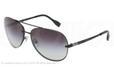 D&G YOUNG&COLOURED DD6086 Bifocal Prescription Sunglasses DD6086-11068G-64 - Lens Diameter 64 mm, Lens Diameter 64 mm, Frame Color Matte Black