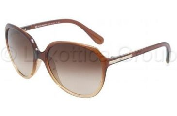 D&G DD8086 Bifocal Prescription Sunglasses DD8086-178113-5916 - Lens Diameter: 59 mm, Frame Color: Brown Gradient