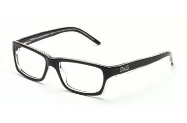 D&G DD1112 Eyeglasses with Lined Bifocal Rx Prescription Lenses