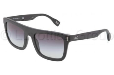 D&G Fashion show DD3083 Sunglasses 25578G-5420 - Matte Black Frame, Gray Gradient Lenses